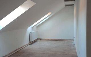 výmalba podkrovních prostorů